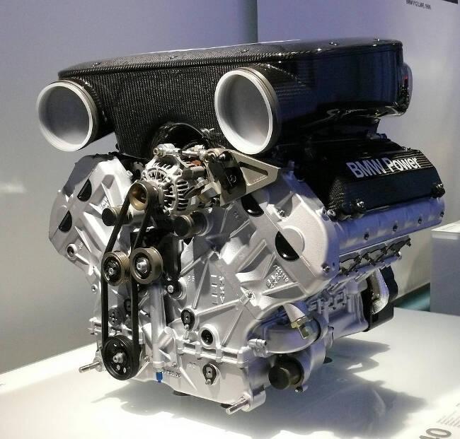 Фото двигателя BMW P60 B40