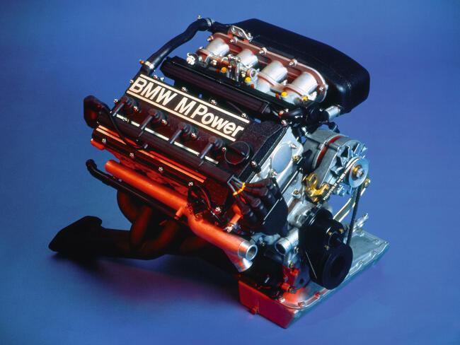 Фото двигателя BMW S14B23