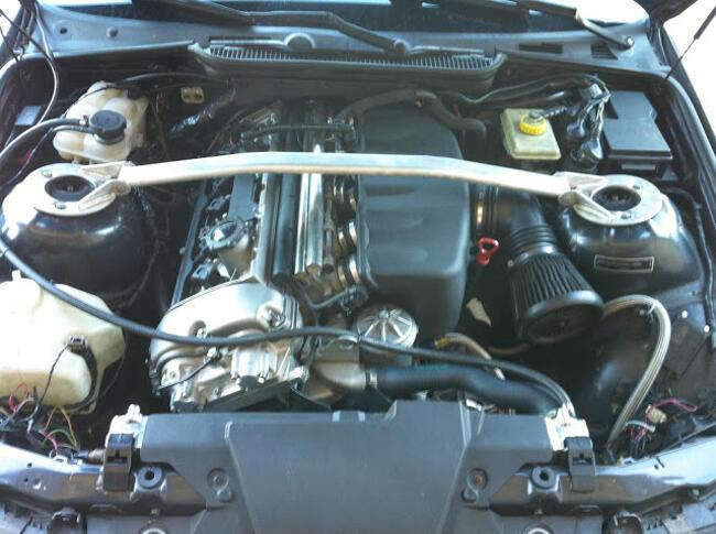 Фото двигателя BMW S52 - 1