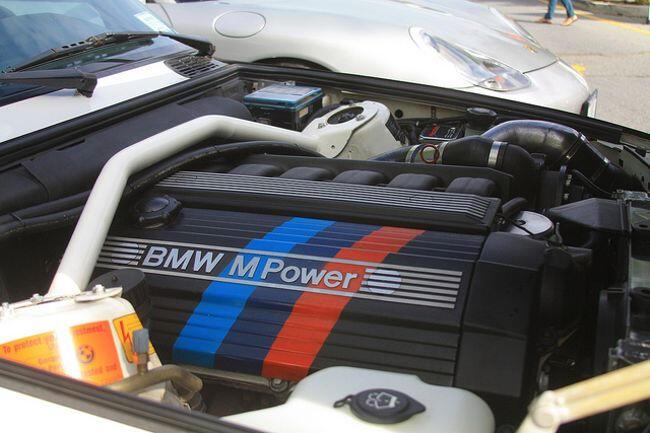 Фото двигателя BMW S52B32 - 6