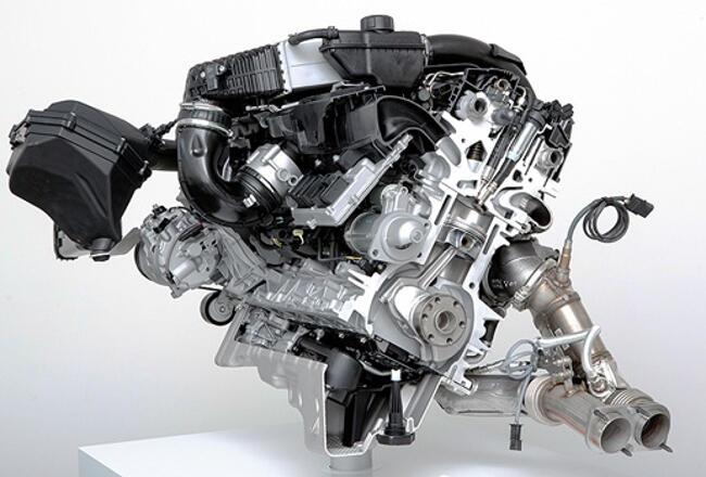 Фото-двигателя-BMW-S55-в-разрезе