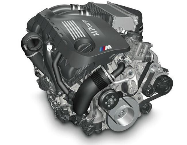 Фото двигателя BMW S55 - 1