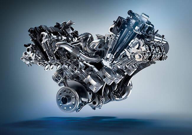 Фото двигателя BMW S63TU для XM
