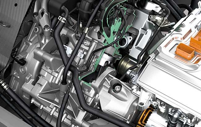 Фото двигателя BMW W20 в i3 l01