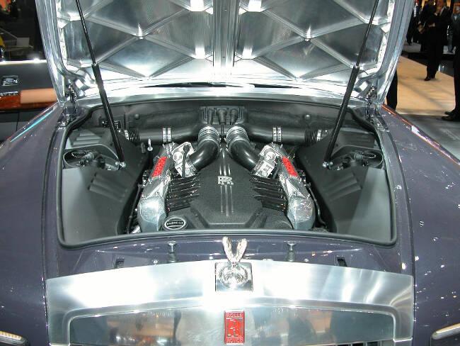 Фото двигателя Rolls-Royce 100EX