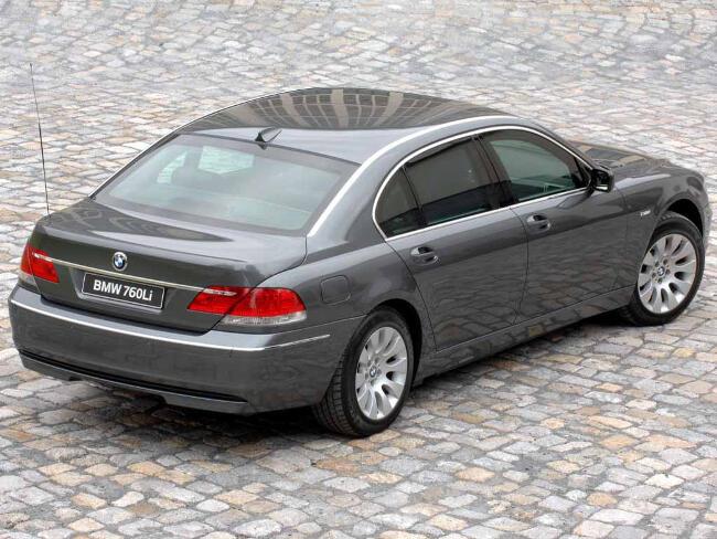 BMW 760Li E67 - 5
