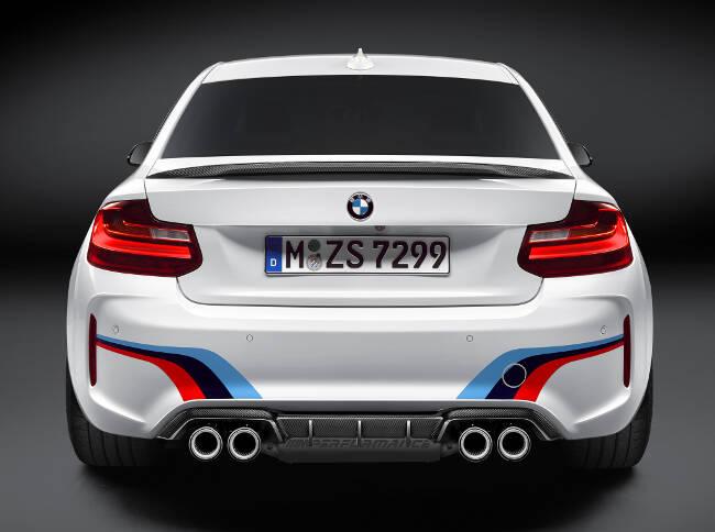 BMW M2 M Performance Accessories F87 - 5