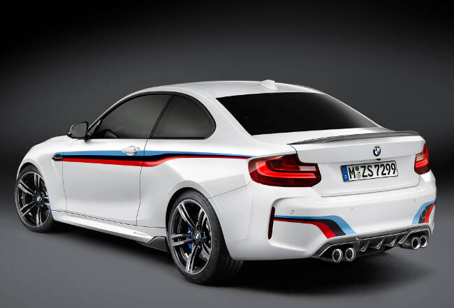BMW M2 M Performance Accessories F87 - 6