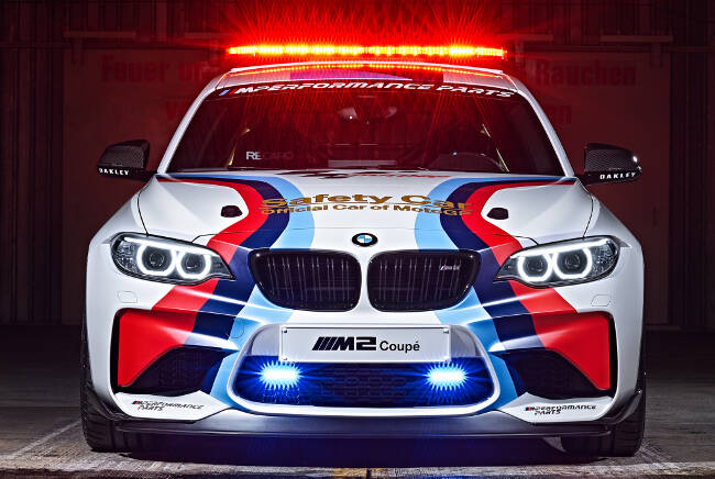 BMW M2 MotoGP Safety Car F87 - 10