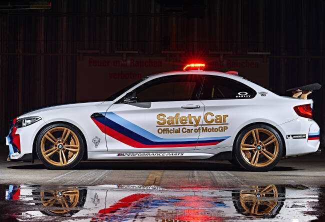 BMW M2 MotoGP Safety Car F87 - 12