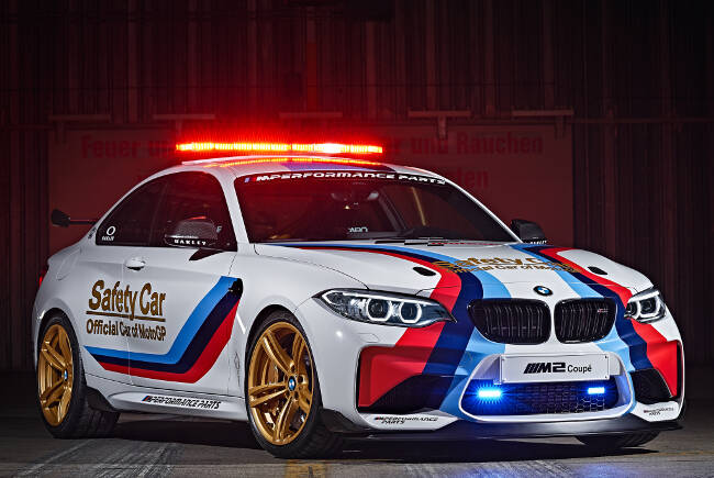 BMW M2 MotoGP Safety Car F87 - 4