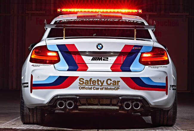 BMW M2 MotoGP Safety Car F87 - 6