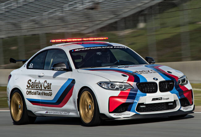 BMW M2 MotoGP Safety Car F87 - 7