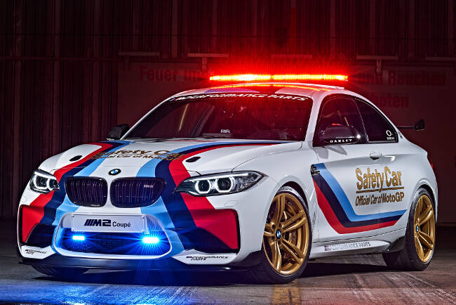 BMW M2 MotoGP Safety Car F87 - 9