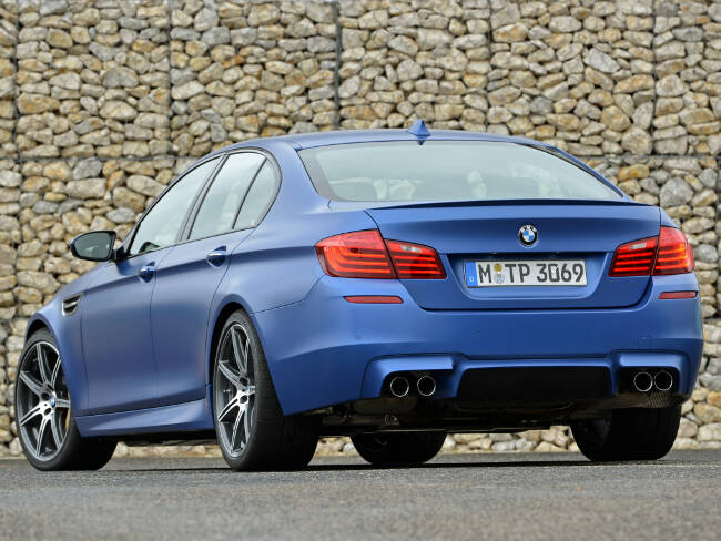 BMW M5 Competition Package F10 - 6