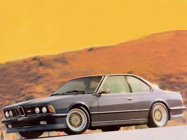 BMW M6 E24 - 8