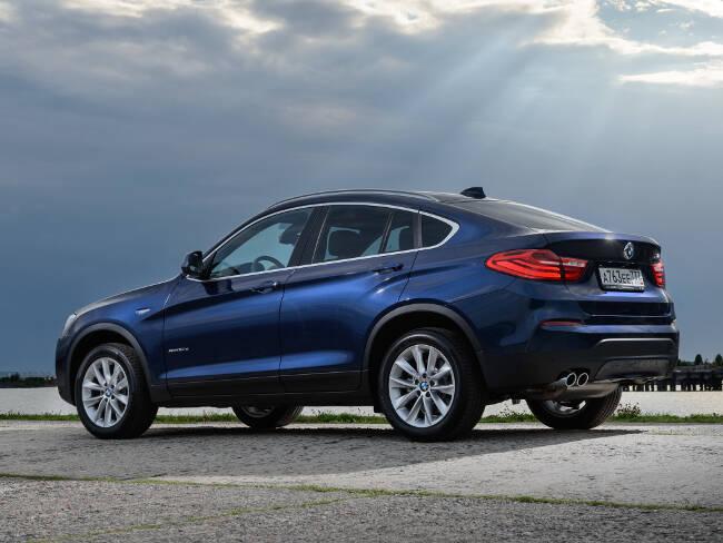 BMW X4 xDrive30d F26 - 4