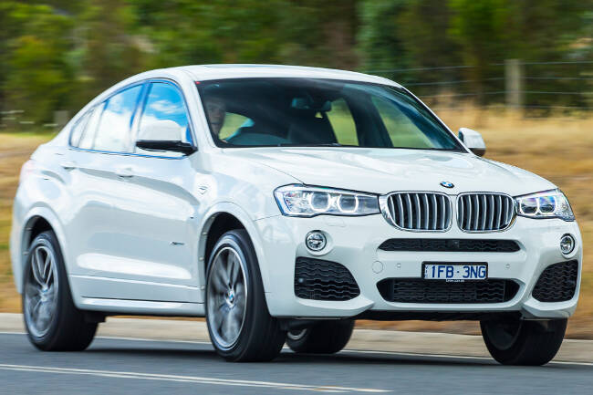 BMW X4 xDrive35d F26 - 2