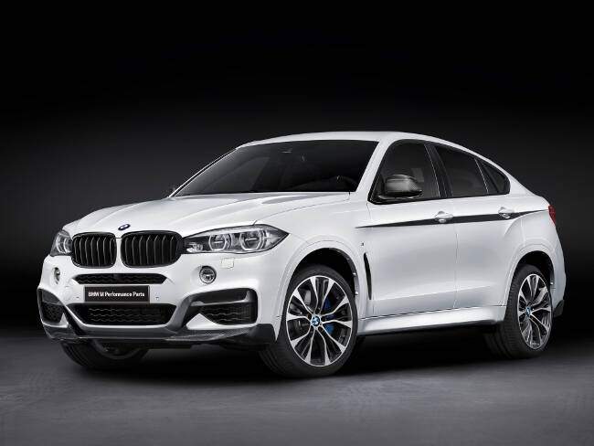 BMW X6 M Performance Accessories F16 - 1