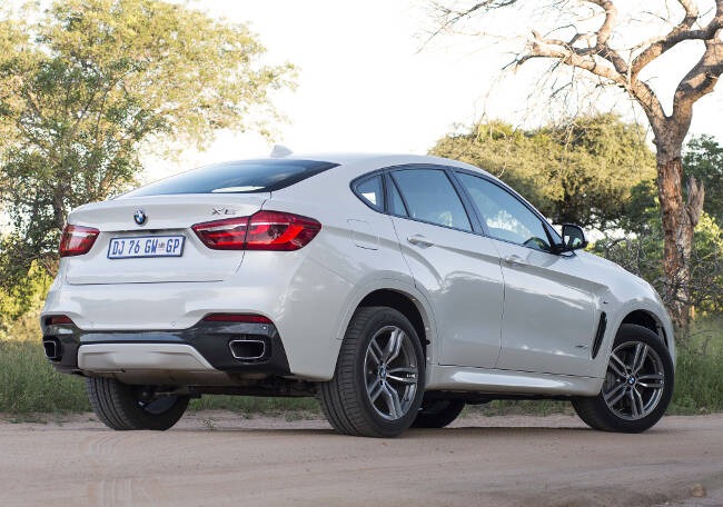 BMW X6 M Sport Package F16 - 2