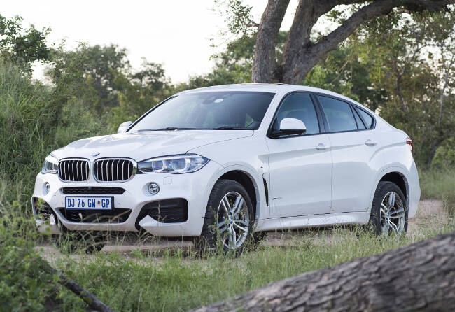 BMW X6 M Sport Package F16 - 3