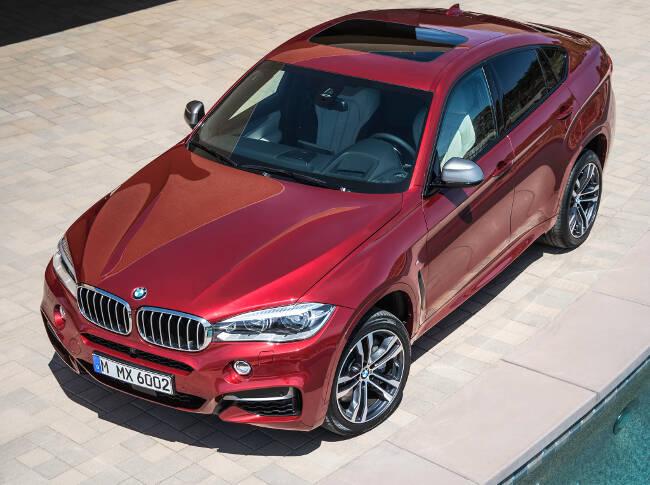 BMW X6 M50d F16 - 10