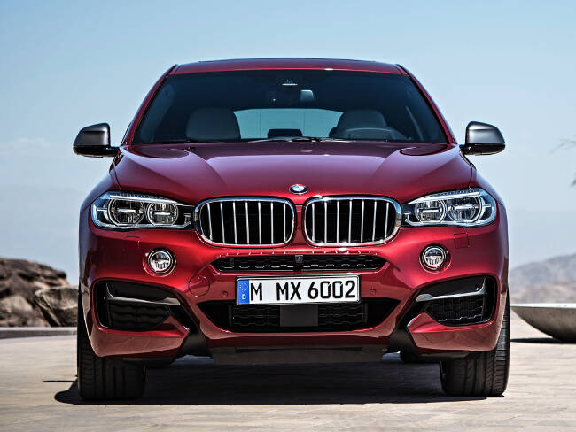 BMW X6 M50d F16 - 11