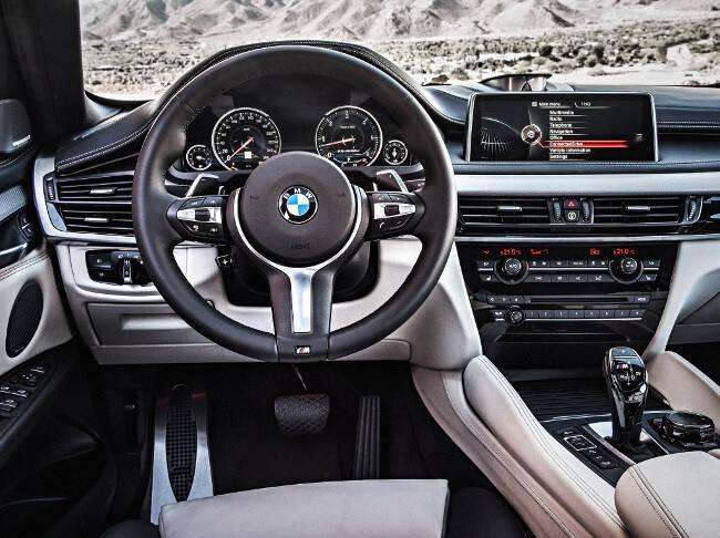 BMW X6 M50d F16 - 6