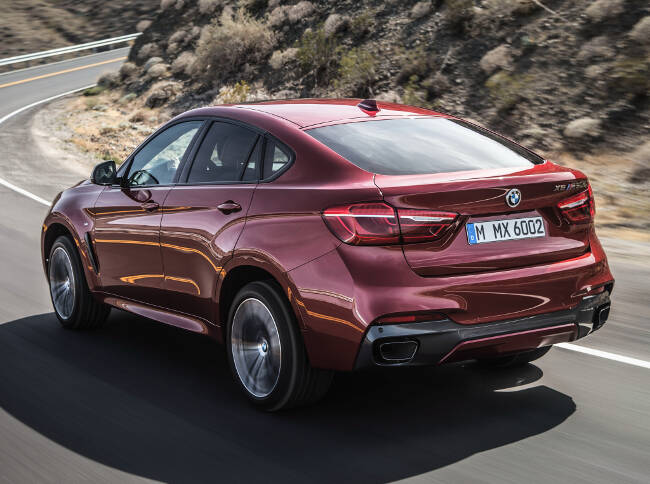 BMW X6 M50d F16 - 7
