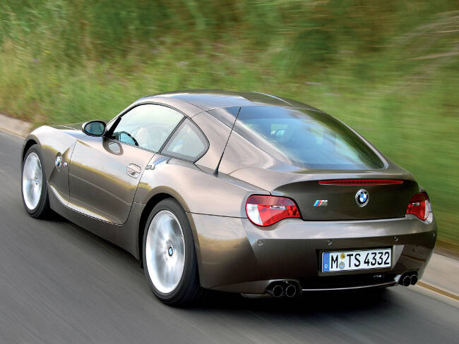 BMW Z4M Coupe E86 - 11