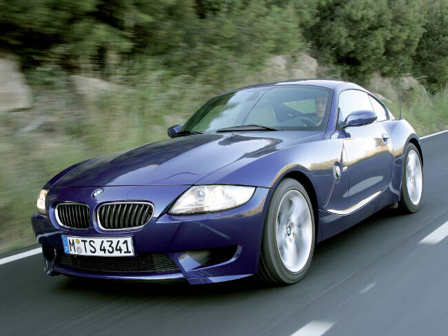 BMW Z4M Coupe E86 - 8