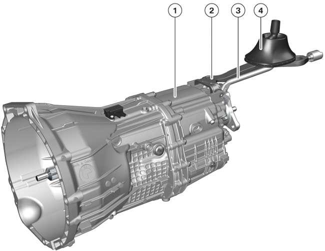 Коробка передач GS6-45