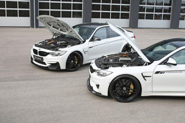 Двигатели BMW M3 F80 и M4 F82 G-Power - 1200
