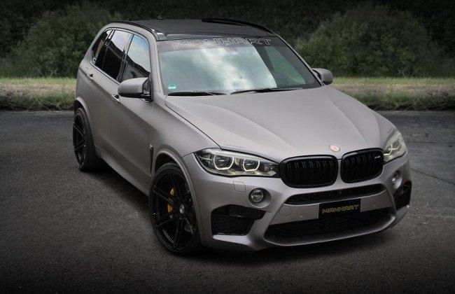 Тюнинг BMW X5 MHX5 700 F15 Manhart