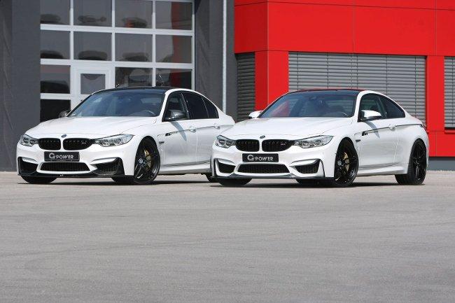 Фото BMW M3 F80 и M4 F82 G-Power - 1200