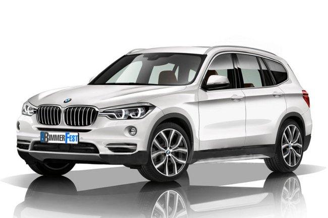 BMW X3 G01 - параметры - фото - двигатели