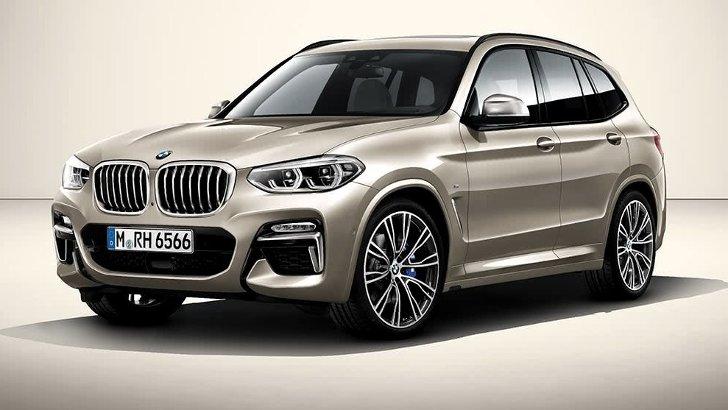 BMW X3 G01 Individual - спереди