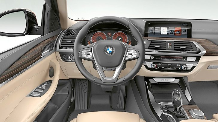 BMW X3 G01 Luxury Line - интерьер
