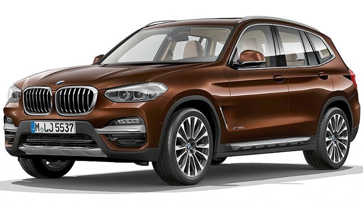 BMW X3 G01 Luxury Line - спереди