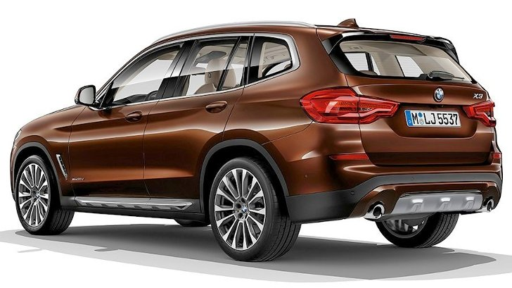 BMW X3 G01 Luxury Line - сзади