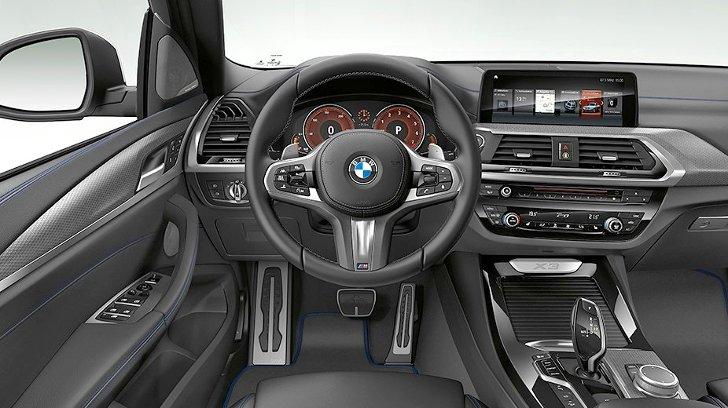 BMW X3 G01 M Sport - интерьер