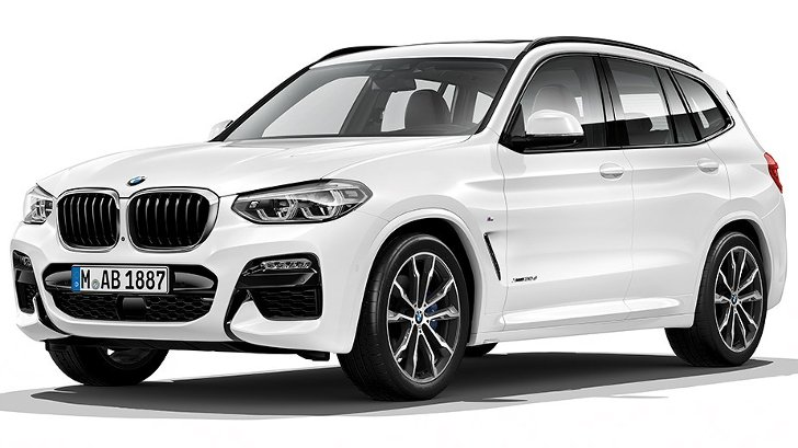BMW X3 G01 M Sport - спереди