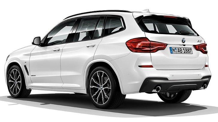 BMW X3 G01 M Sport - сзади