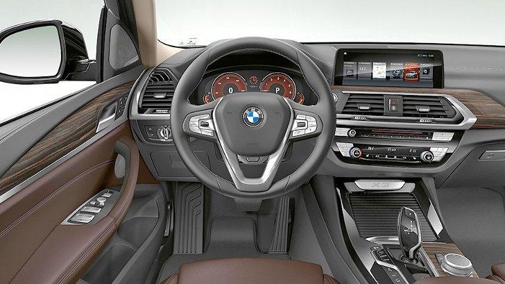 BMW X3 G01 xLine - интерьер