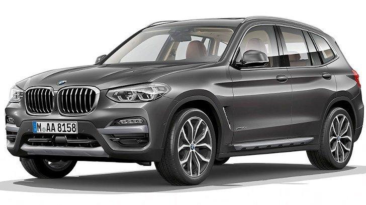 BMW X3 G01 xLine - спереди