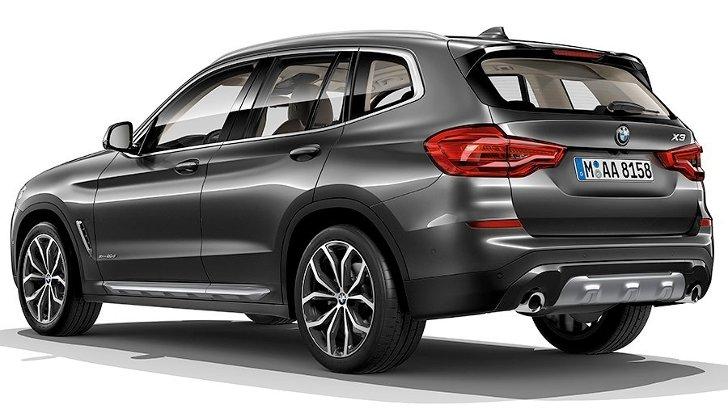 BMW X3 G01 xLine - сзади
