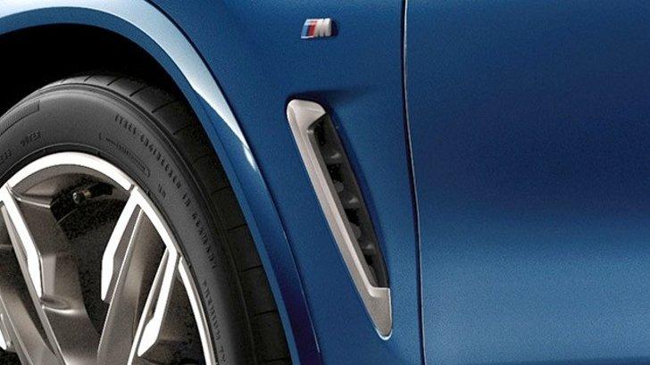 Боковые жабра BMW X3 G01