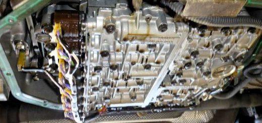 Замена масла в автоматической коробке передач БМВ X5 E53