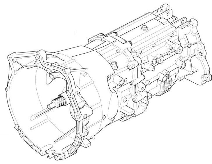 Замена масла в механической коробке передач BMW X5 E53