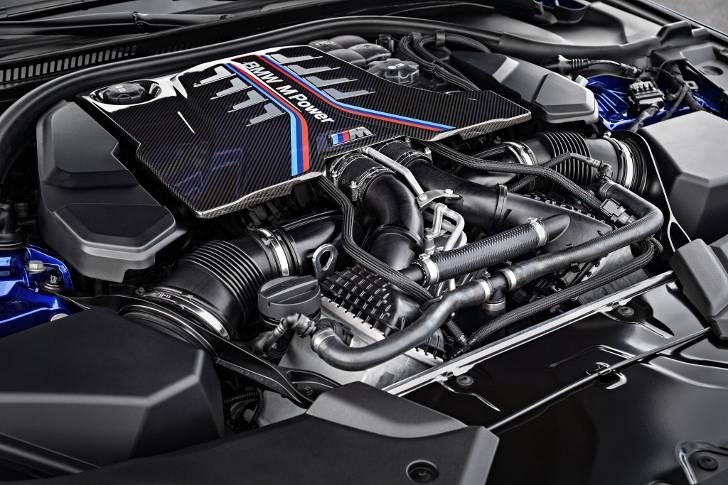 Мотор BMW M5 F90